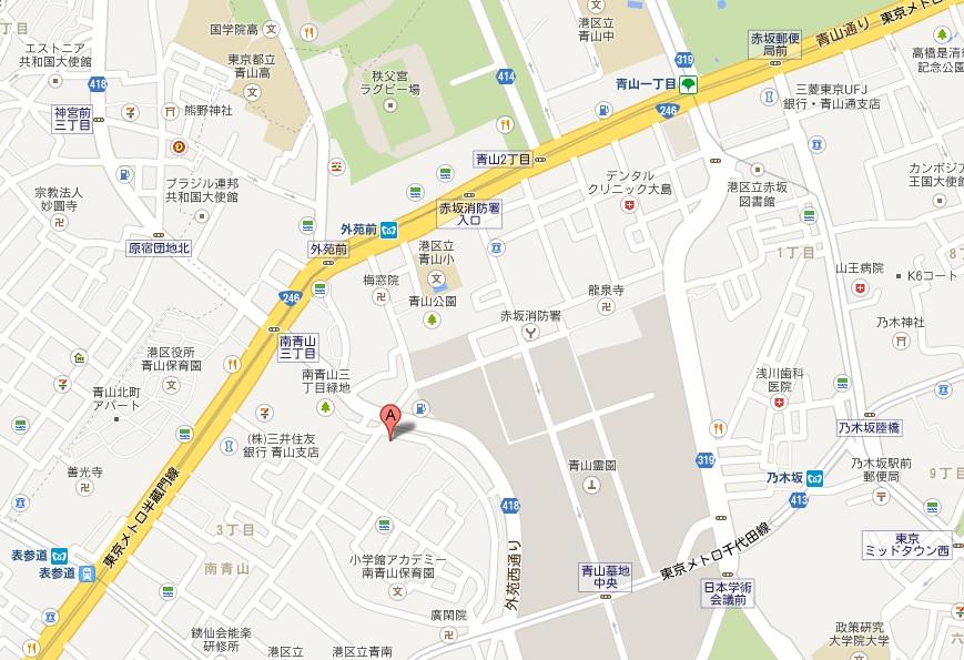 月見ル君ヲ想フ MAP